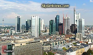 "Frankfurt city centre - skyline (""Mainhatten"")"